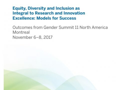 Gender Summit 11 - NA Final Report