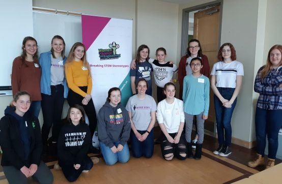 Antigonish Area Girls Participate in Girls Get WISE Science Retreat